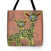 Lil Giraffes Tote Bag