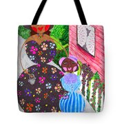 Lil Mona And Aunt Spike Tote Bag