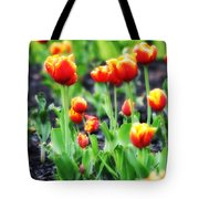 Lil Tulips Tote Bag