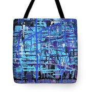 Lila Water Tote Bag