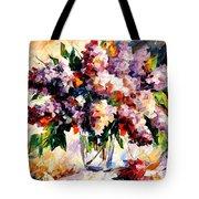 Lilac - Morning Mood Tote Bag