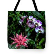 Lilac And Pink Tote Bag