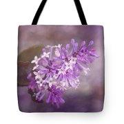 Lilac Blossom Tote Bag