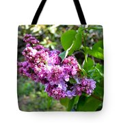 Lilac Branch Tote Bag
