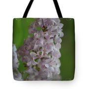 Lilac Dreams With Corner Decorations Tote Bag