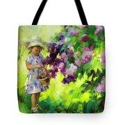 Lilac Festival Tote Bag