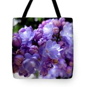 Lilac Flower Tote Bag