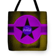 Lilac On Orange Tote Bag