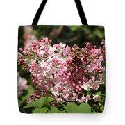 Lilac Pink Tote Bag