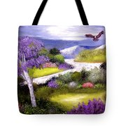 Lilac Valley Tote Bag