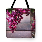 Lilacs In A Vase Tote Bag