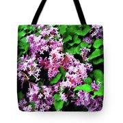 Lilacs In May Tote Bag