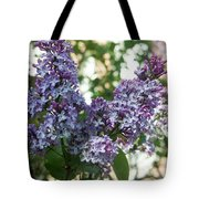 Lilacs In Spring Tote Bag