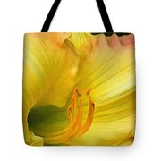 Lilied Curves Tote Bag
