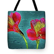 Lilies 18-10 Tote Bag