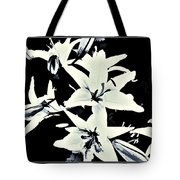 Lilies All Aglow Tote Bag