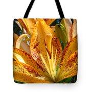 Lilies Art Prints Orange Lily Flowers 2 Gilcee Prints Baslee Troutman Tote Bag