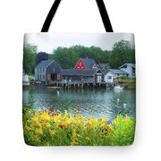 Lilies By The Bay, Cape Porpoise Me Tote Bag