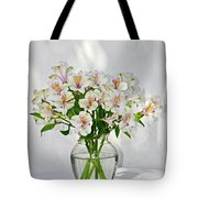 Lilies In A Vase 001 Tote Bag