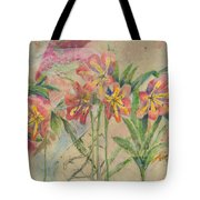 Lilies In Disguise Tote Bag