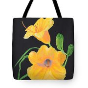 Lilies Of September Tote Bag