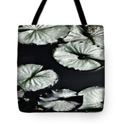 Lilies Of The Deep Tote Bag