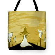 Lilies Of The Field 2 Tote Bag