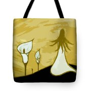 Lilies Of The Field 3 Tote Bag