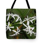 Lilies Of The Swamp Tote Bag