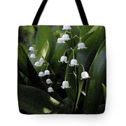 Lilies Of The Valley - Watercolor Tote Bag