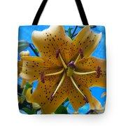 Lilium Yellow Tote Bag