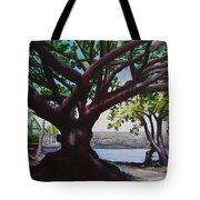 Liliuokalani Park Tree Tote Bag