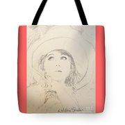 Lillian In Hat Tote Bag