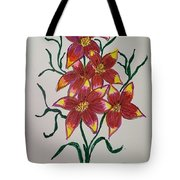Lillies Tote Bag
