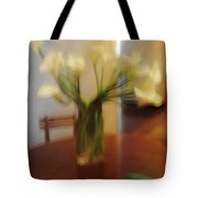Lillies On The Table Tote Bag