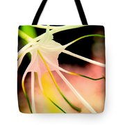 Lilly Flower Pastel Tote Bag