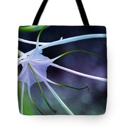 Lilly Flower Purple Tote Bag