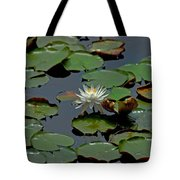 Lilly On The Pad Tote Bag
