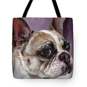 Lilly The French Bulldog Tote Bag
