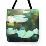 Lillypad Reflections Tote Bag