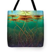 Water Lily - Transmute Tote Bag