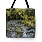 Lily Bend On Blind River Tote Bag