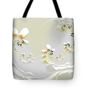 Lily Chains Tote Bag