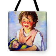 Lily Cow And The Queen 1915 Tote Bag