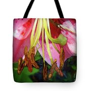 Lily Essence Tote Bag