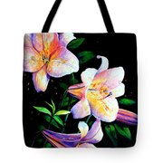 Lily Fiesta Tote Bag