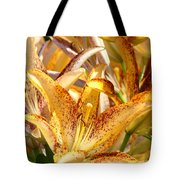 Lily Flower Garden Art Prints Canvas Floral Lilies Baslee Troutman Tote Bag