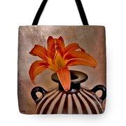 Lily In A Peruvian Vase Tote Bag