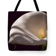 Lily In Shadows Tote Bag