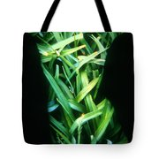 Lily Leaves Tote Bag